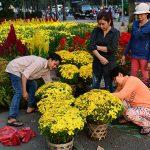 cách bán hoa ngày tết